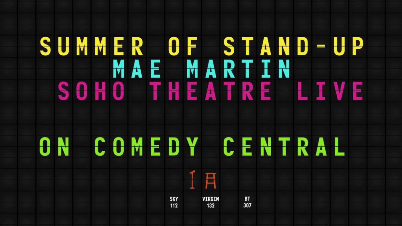 Mae Martin At The Soho Theatre Live | Comedy Central UK