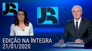 Assista à íntegra do Jornal da Record | 21/01/2020