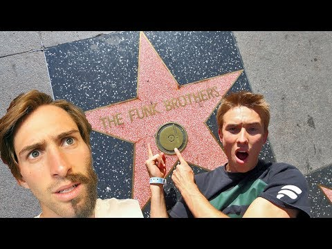 WE GOT A HOLLYWOOD STAR!!!