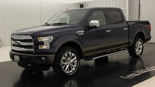 2015 Ford F-150 Lariat: Standard Equipment & Available Options