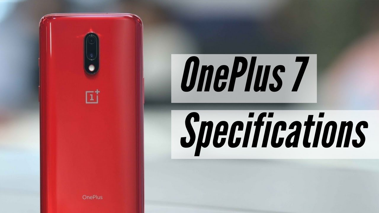 OnePlus 7 Specifications - Tech Videos, Firstpost