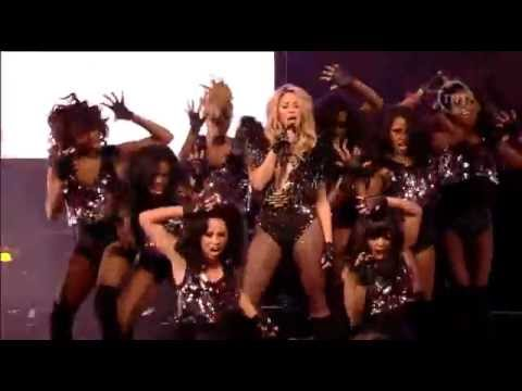 Shakira - She Wolf/Give It Up To Me ( Live NBA All Star Game 2010 )