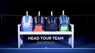 The Head Tour Team backpack