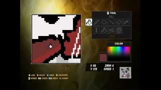 WWE 12 How To Make Candy Canes Superheel Rat Skull Logo part 2.avi