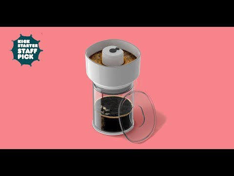 Kickstarter Last 48-Hours! First Ever One-Touch Coffee And Cold Brew Maker · Https://kck.st/2Nnsci5