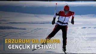 Erzurum'da Avrupa Gençlik Festivali