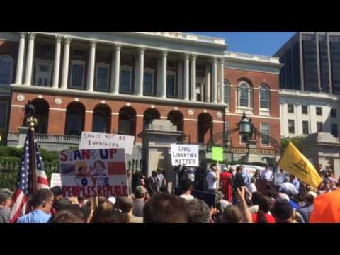 WATCH: Gun Activists Rally to Protest AG Maura Healey