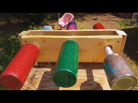 DIY Custom Glitter Tumbler Multiple Cup Turner