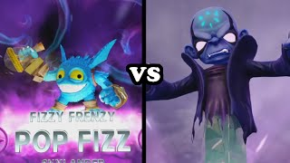 Skylanders Trap Team - S3 Fizzy Frenzy Pop Fizz VS Kaos