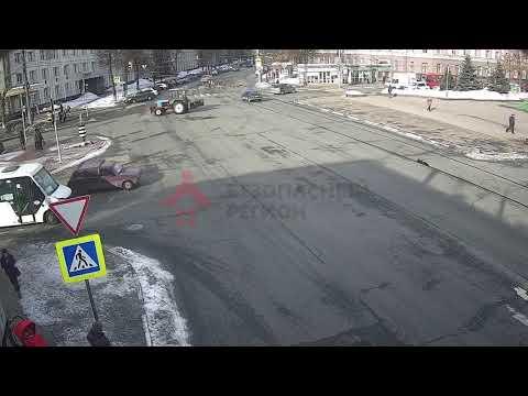 ДТП Советская/Ленина. 27.02.2019.