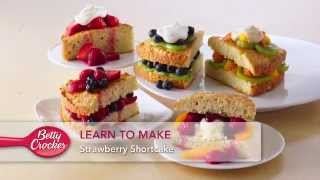 Learn To Make Strawberry Shortcake