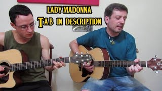 Lady madonna - The Beatles - acoustic cover