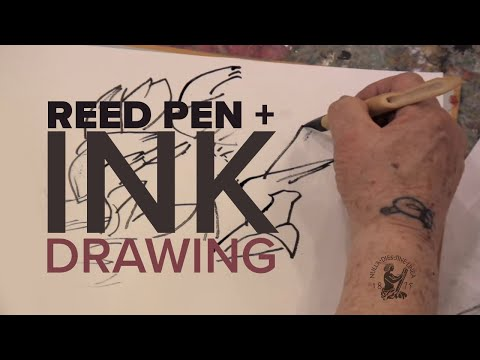 Knox Martin – Drawing Demonstration