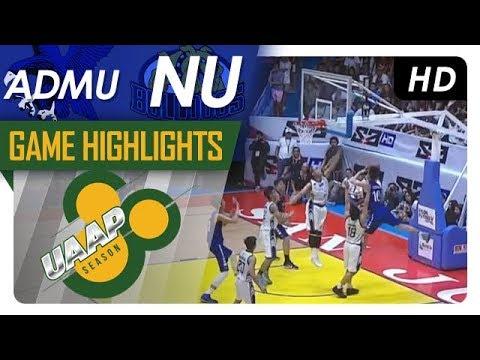 UAAP 80 Jr's Basketball Finals Game 2: ADMU vs. NU | Game Highlights | February 27, 2018