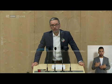 Herbert Kickl (FPÖ) greift Verteidigungsministerin Tanner (ÖVP) scharf an