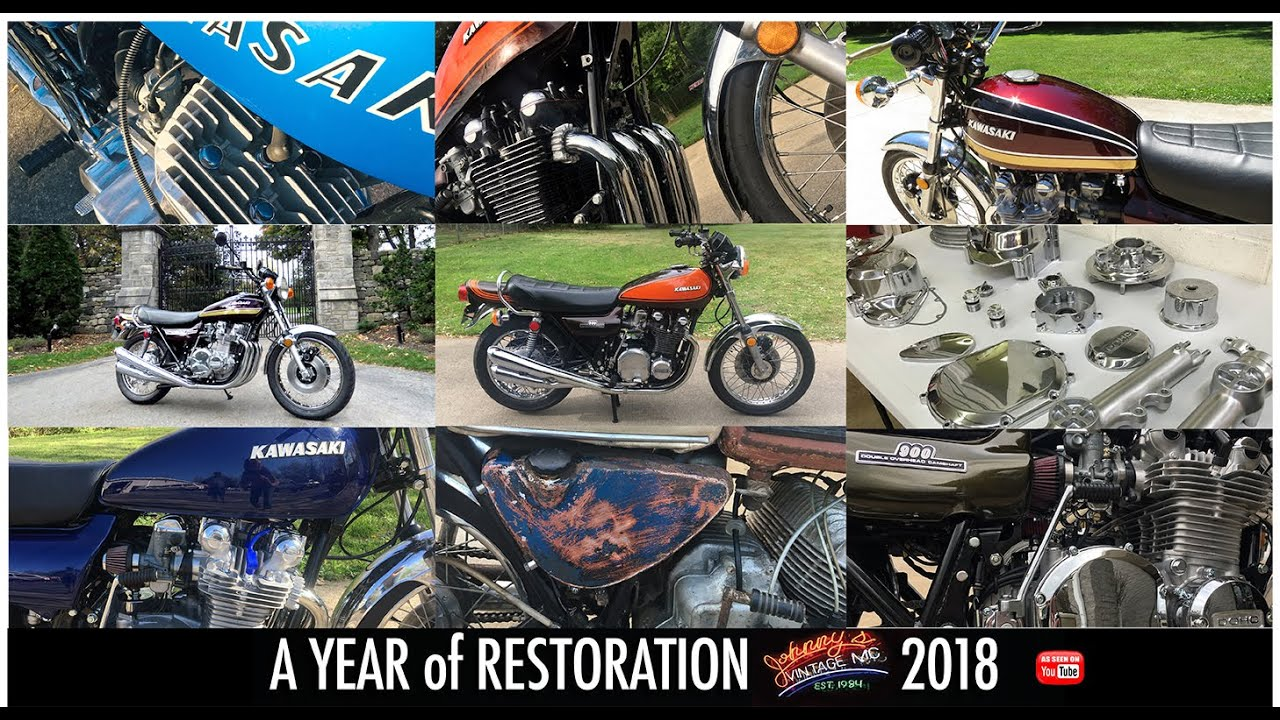 Johnny's Vintage Motorcycle 2018 in Review