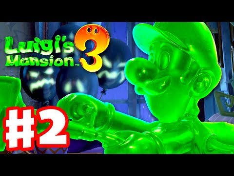 Luigi S Mansion 3 Gameplay Walkthrough Part 2 Gooigi