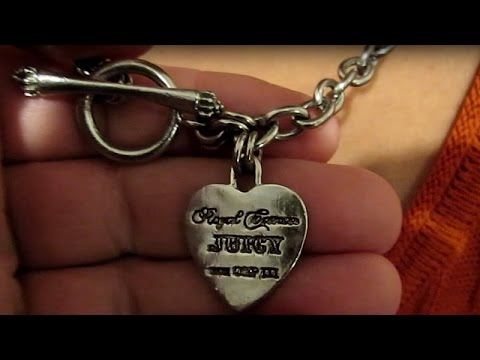 Juicy couture heart necklace jewelry youtube juicy couture heart necklace jewelry aloadofball Gallery