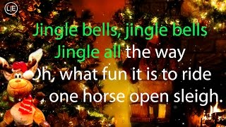 Jingle Bells Karaoke (Christmas Instrumental Voice Song) Lyrics HD MERRY XMAS 2014
