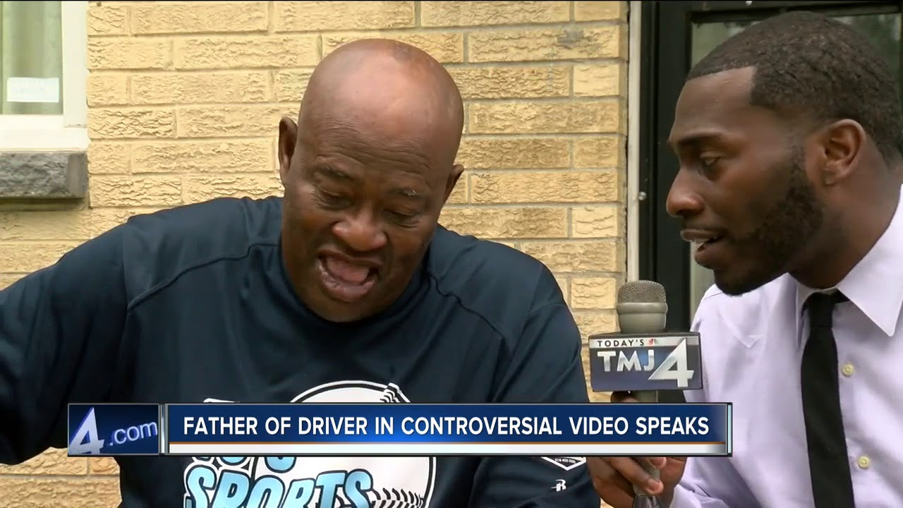 Father of driver reacts to video of Racial slur from KKKops at traffic stop