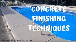 5 Tips For A Perfect Broom Finish Concrete Patio - Видео на