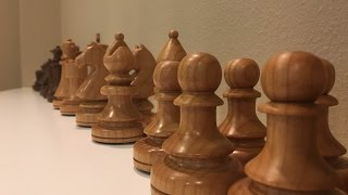 Finishing the Chess set series - Chess pieces done!