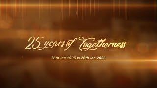 25th Years of Togetherness [Raghunath & Anita]    Dark Pixel Photography