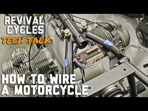 How To Wire a Motorcycle Series, Introduction  // Revival Tech Talk