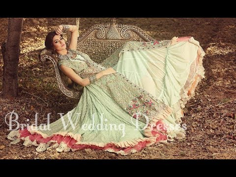 399cf06070 Latest Pakistani Designer Bridal Wedding Dresses 2017-2018 - YouTube