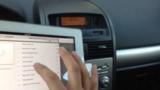 How to connect iPad 2 to car radio - iPad Car Radio Adapter