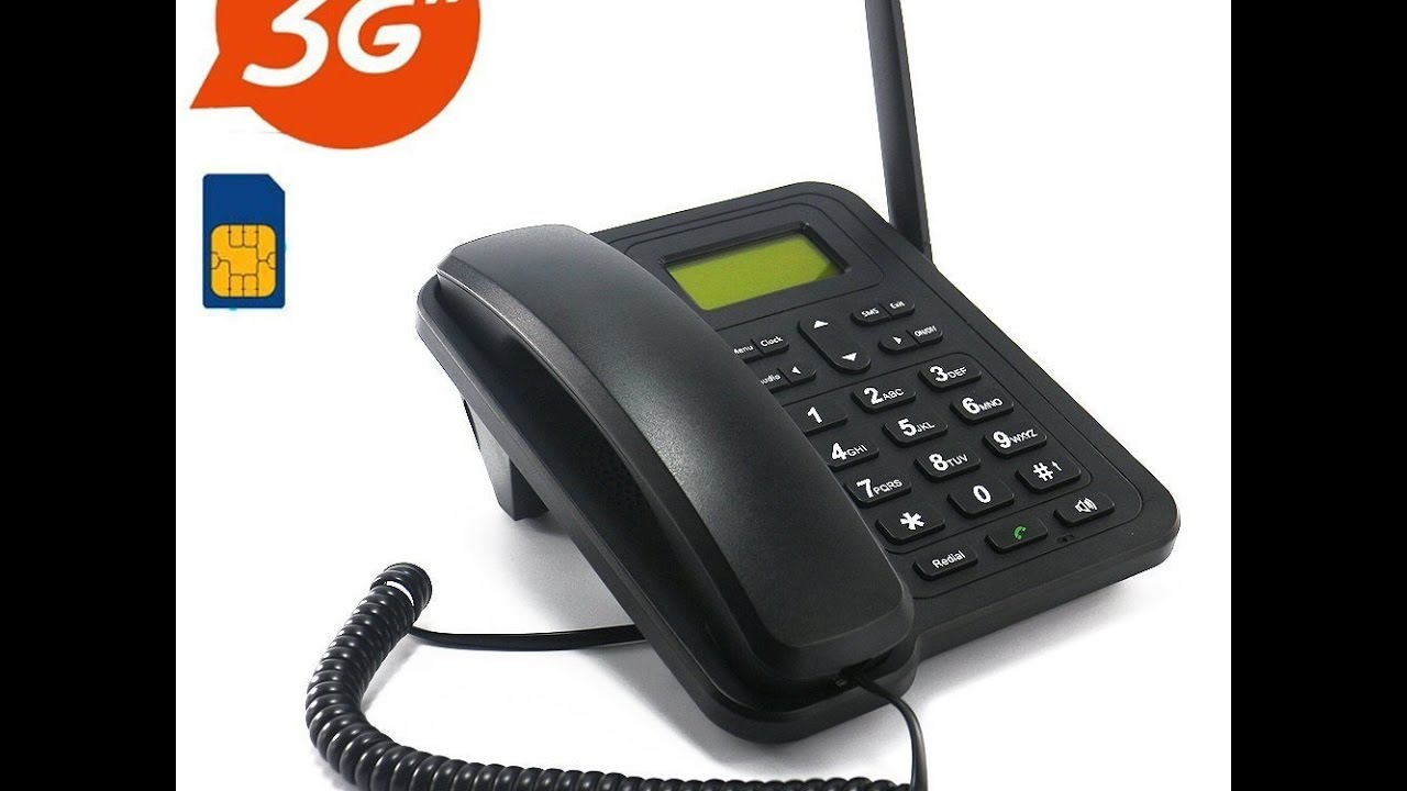 Sourcingbay M932 Dual Band 3G Desk Phone from Jeasun