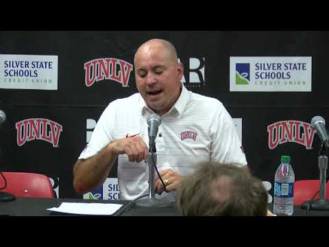 UNLV Football Postgame Press Conference vs. Howard