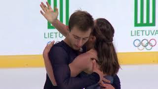 Попова Дарья/Беликов Владимир Украина | ISU ЮГП 2018 Каунас | Произвольный танец (танцы на льду)