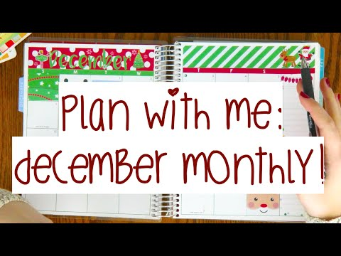 december-monthly-calendar-plan-with-me!