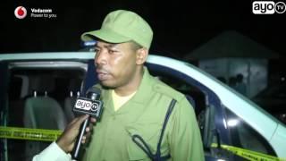 Mwigulu Nchemba ameyaongea haya baada yakufika eneo walipouwawa Askari Polisi
