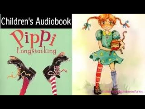 Pippi Longstocking by Astrid Lindgren Audiobook Kids audio book