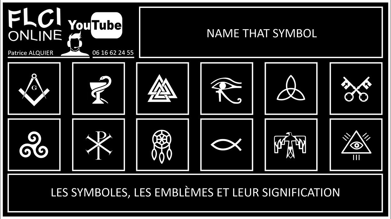 symbols explained deciphered quiz sur les symboles et leur signification youtube. Black Bedroom Furniture Sets. Home Design Ideas