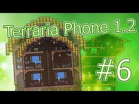 видео: lp. terraria phone #6 (Делаем дома для жителей :3)