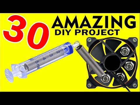 30 AMAZING project DIY LOW COST in 3 Years - Tartaglia daniele