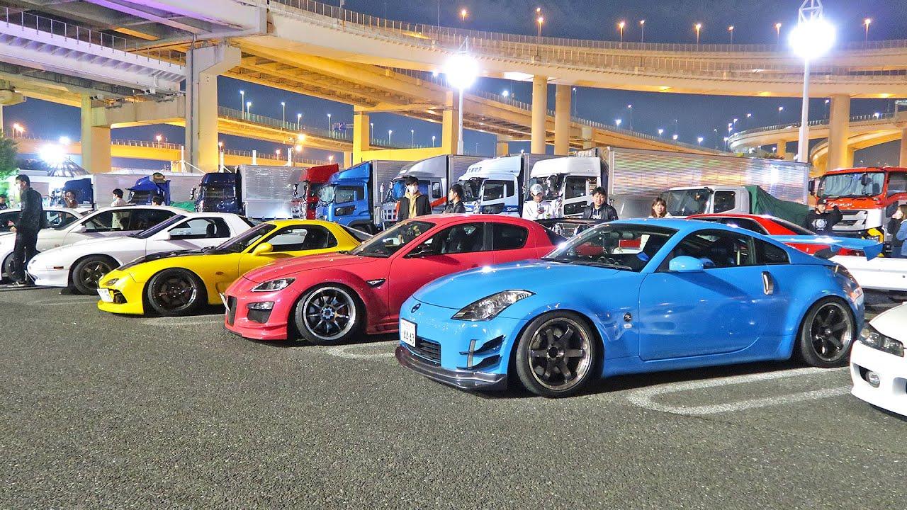DAIKOKU PA - JAPAN'S BIGGEST WEEKLY CAR MEET! - YouTube