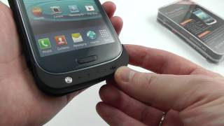 видео Мощный аккумулятор для Samsung Galaxy S3 на 7000 мАч