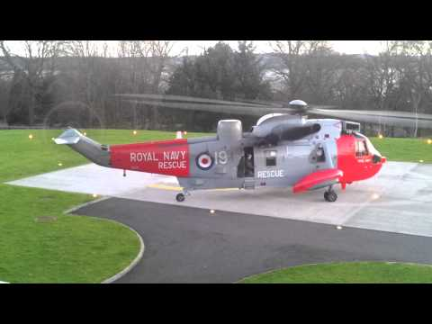 Royal Navy Sea King Helicopter HD