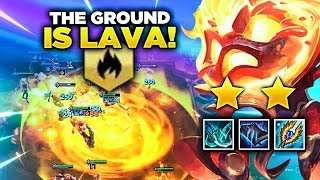 Gambar cover THE ENTIRE FLOOR IS LAVA! THE 9 INFERNO DREAM! | TFT | Teamfight Tactics