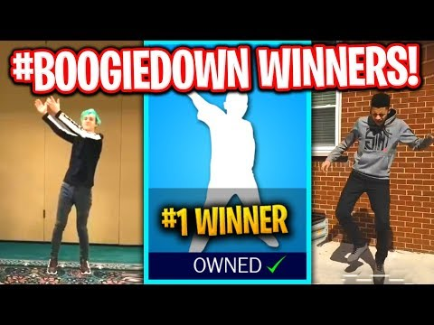 REACTING TO FINAL #BoogieDown CONTEST WINNERS! (NINJA, MYTH, ROY PURDY & MORE!)