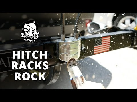 Why hitch bike racks rock - Saris Superclamp 2016