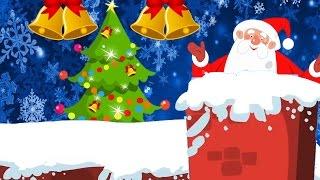 Père Noël descendre dans la cheminée | jingles de Noël pour enfants en français