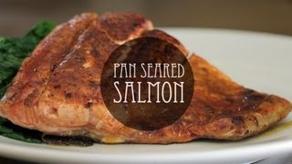 Pan Seared Salmon With Cinnamon And Chili Powder