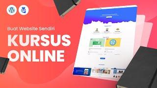 CARA MEMBUAT WEBSITE PEMBELAJARAN ONLINE / KURSUS ONLINE DARI NOL SAMPAI ONLINE - FULL LENGKAP