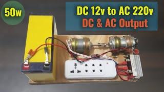 How to make 220v 50W DIY Dynamo Generator Using 775 Motor