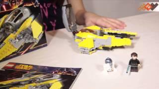 Конструтор Лего Звездные войны (Lego Star Wars) Перехватчик Джедаев 75038